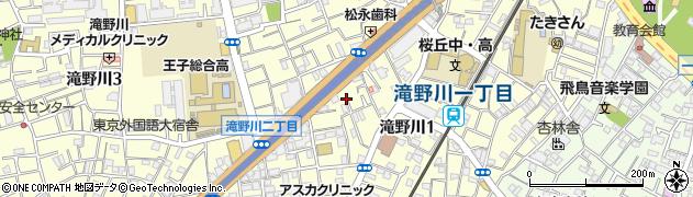 東京都北区滝野川1丁目71周辺の地図