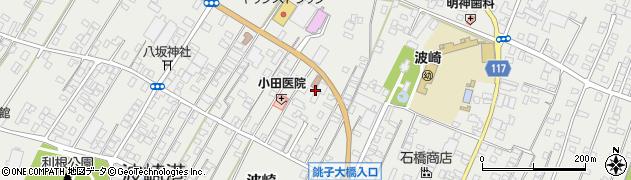 茨城県神栖市波崎(明神前)周辺の地図