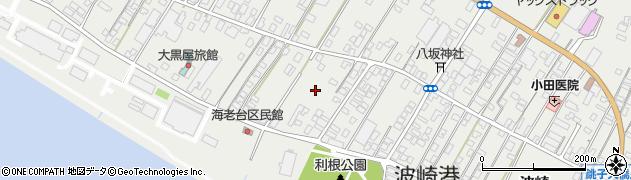 茨城県神栖市波崎(本新町)周辺の地図