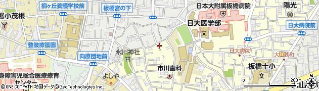 東京都板橋区大谷口上町周辺の地図