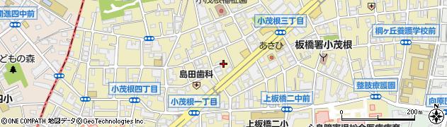 東京都板橋区小茂根周辺の地図