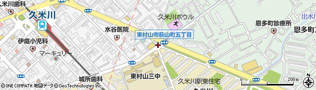 ダイヤ寿司周辺の地図