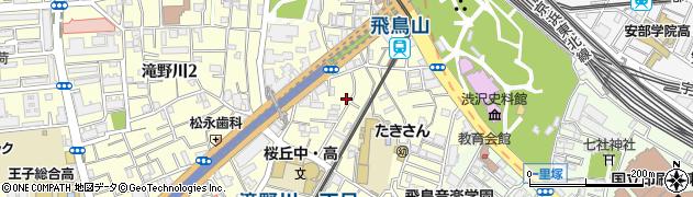 東京都北区滝野川1丁目55周辺の地図