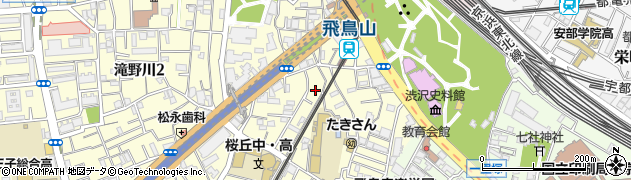 東京都北区滝野川1丁目56周辺の地図