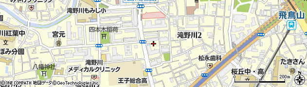 都営滝野川2丁目アパート周辺の地図