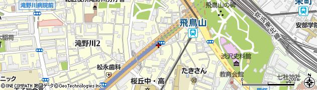 東京都北区滝野川1丁目61周辺の地図