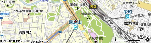 東京都北区滝野川1丁目59周辺の地図