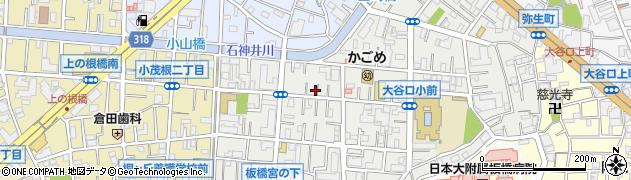 東京都板橋区大谷口北町周辺の地図