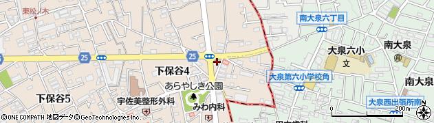 江川亭保谷店周辺の地図