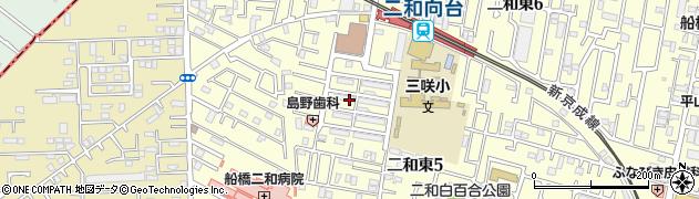 東京国税局二和宿舎周辺の地図