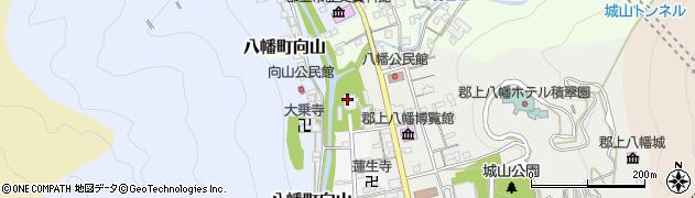 長敬寺周辺の地図