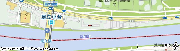 尾久橋スカイハイツ周辺の地図