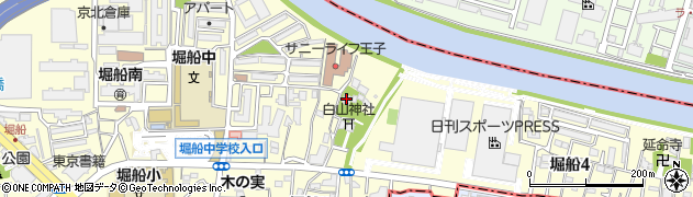 福性寺周辺の地図