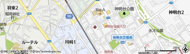 日野自動車寮周辺の地図