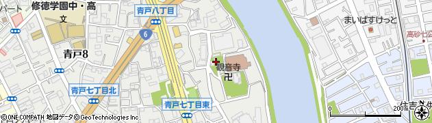 青砥神社周辺の地図