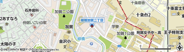 東京都板橋区加賀周辺の地図