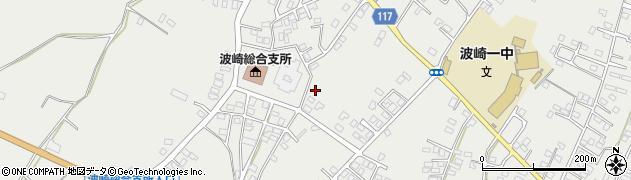 茨城県神栖市波崎周辺の地図