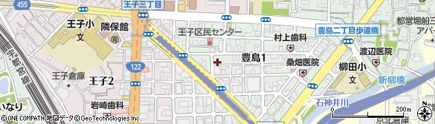 律周辺の地図