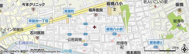 都営双葉町アパート周辺の地図