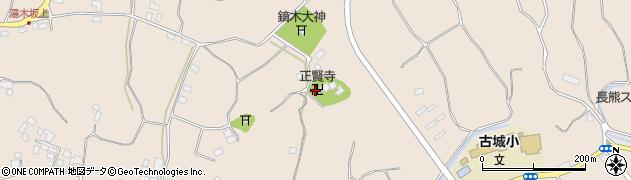 正賢寺周辺の地図