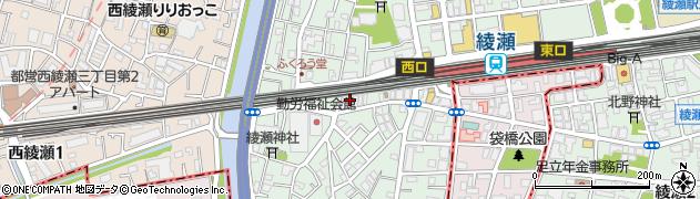 赤兵衛 西口店周辺の地図