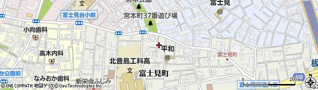 東心寺周辺の地図