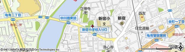 宝蓮寺周辺の地図