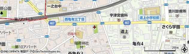 善養寺周辺の地図