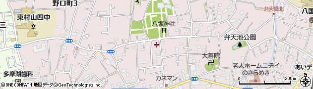 八坂神社参集殿周辺の地図