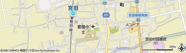 白心寺周辺の地図
