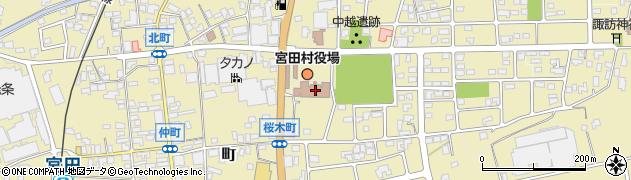 長野県宮田村(上伊那郡)周辺の地図