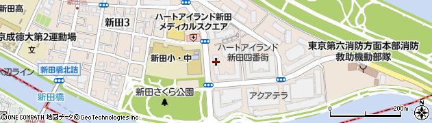 ロイヤルパークス新田周辺の地図