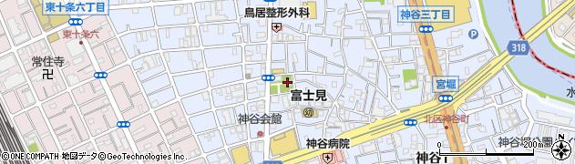 柏木神社周辺の地図