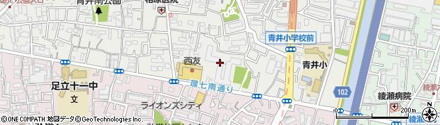 日商岩井綾瀬マンション周辺の地図