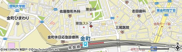 しちりん金町駅前店周辺の地図