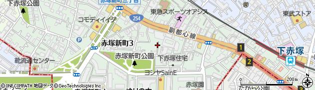 東京都板橋区赤塚新町周辺の地図