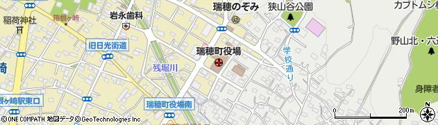 東京都西多摩郡瑞穂町周辺の地図