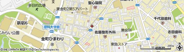 貴美 金町店周辺の地図