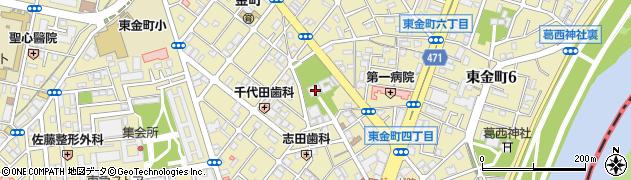 金蓮院周辺の地図