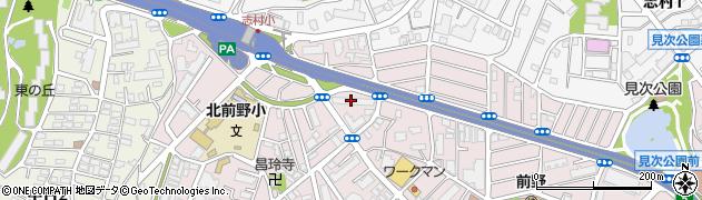 都営前野四丁目第二アパート周辺の地図