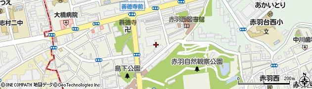 都営赤羽西5丁目アパート周辺の地図
