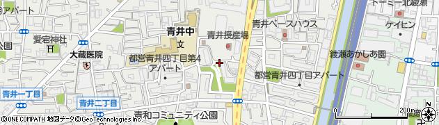 都営青井四丁目第2アパート周辺の地図