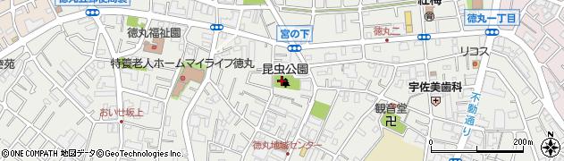 東京都板橋区徳丸周辺の地図
