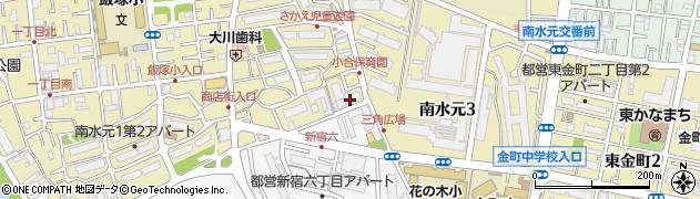 都営南水元一丁目第3アパート周辺の地図