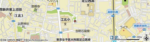 都営上沼田アパート周辺の地図