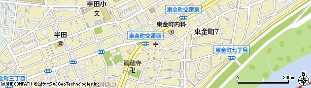 東京都葛飾区東金町周辺の地図