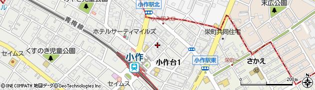 ジェームス周辺の地図