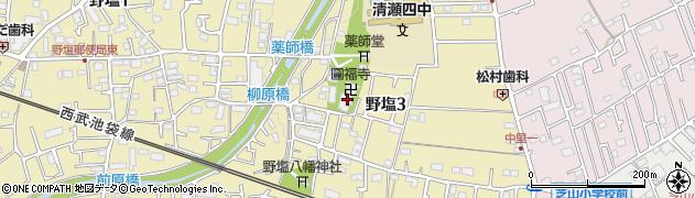円福寺周辺の地図