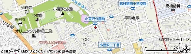 東京都板橋区小豆沢周辺の地図