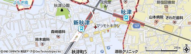二代目 常翔家周辺の地図